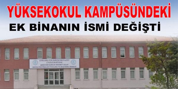 Mehmet Aslan'ın ismi yeniden yazıldı