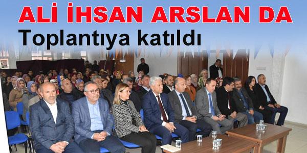 Ak Parti ilçe Danışma toplantısı yapıldı
