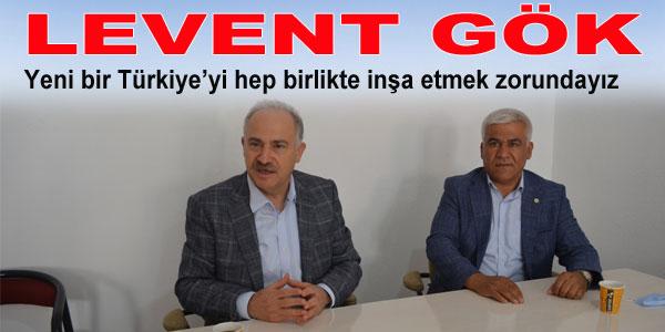 Gök, CHP İlçe Teşkilatını Ziyaret Etti