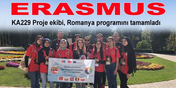 Fen Lisesi Proje ekibi, Romanya'dan döndü
