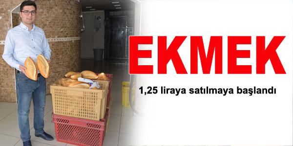 Ekmek fiyatı zamlandı