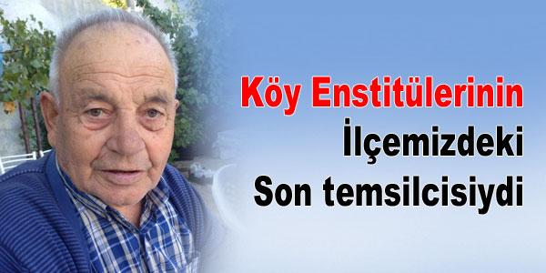 Öğretmen Mehmet Kutlu vefat etti.