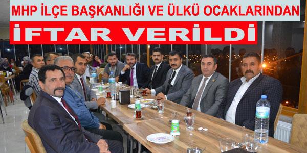 Ankara'dan da konuklar vardı