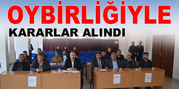 Belediye Meclisi Mart ayı toplantısı yapıldı