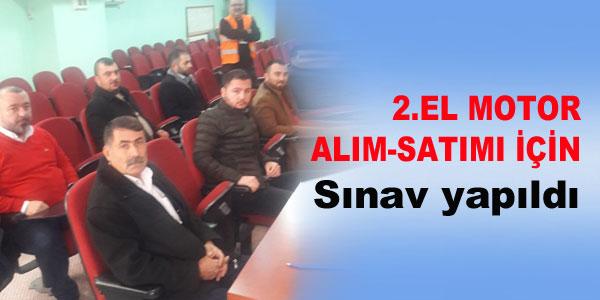 Sınava 42 aday katıldı