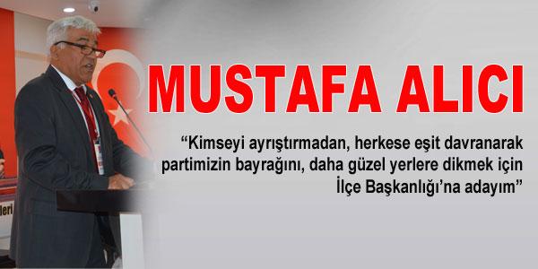 Mustafa Alıcı'nın konuşması