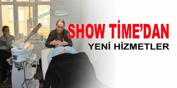 Show Time'dan yenilikler